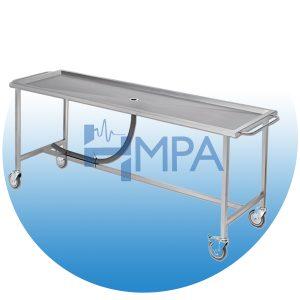 Table pour lavage de corps avec système d'évacuation - TA02